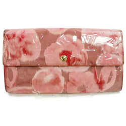 Louis Vuitton Rose Velour Sarah Wallet Portefeuille Vernis Long Pink Limited 872500