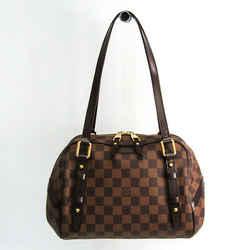Louis Vuitton Damier Rivington PM N41157 Shoulder Bag Ebene BF512957
