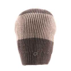 Stripe Beanie Knit Wool XS