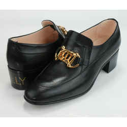 Gucci Ebal Leather Loafers with Horsebit