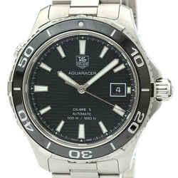 Polished TAG HEUER Aquaracer 500M Calibre 5 Automatic Watch WAK2110 BF519828