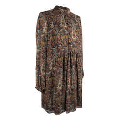 Saint Laurent Tunic / Dress Floral Paisley Print 38 / 6 Nwt