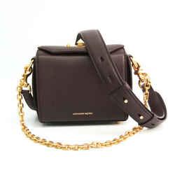 Alexander McQueen BOX BAG 16 479767 Women's Leather Shoulder Bag,Tote B BF535510