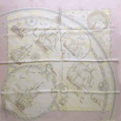 Hermes Fregates Magnifiques Square Silk Scarf 90 cm