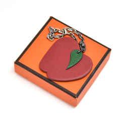 Hermes Apple Leather Bag Charm/ Key Chain HB073