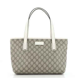Plus Tote GG Coated Canvas Small
