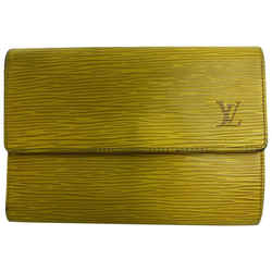 Louis Vuitton Yellow Epi Leather Alexandra Wallet 20LVL1125