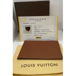 Louis Vuitton Brown Card Cover 1999
