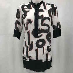 Proenza Schouler Black Tunic XS