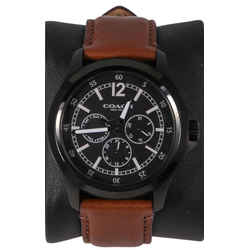 Coach Chrongraph Black Unisex Watch - W5007