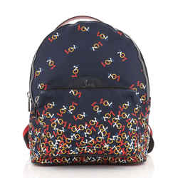 Backloubi Backpack Printed Nylon Medium
