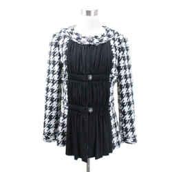 Chanel Black and White Acrylic Blazer Sz 40