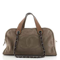 In the Mix Timeless Bowler Bag Iridescent Calfskin and Quilted Glazed Calfskin Large