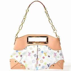 Auth Louis Vuitton Multi-judy Gm Chain Bag Shoulder Leather