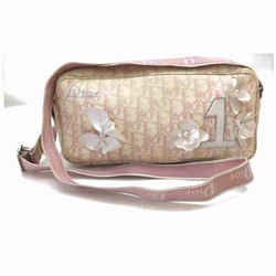Dior Pink Monogram Trotter Girly Chic Dior No 1 Crossbody Camera Bag 860370