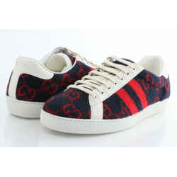 Gucci Covered Wool Big Gg Monogram Sneakers