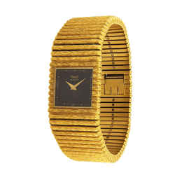 Piaget Vintage 1980's 18k Yellow Gold Quartz Watch