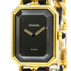 CHANEL Premiere Size L Gold Plated Quartz Ladies Watch H0001 BF531279