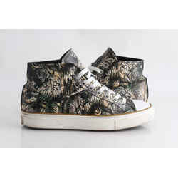 Roberto Cavalli Tiger High-Top Sneakers