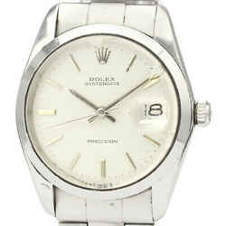 Vintage ROLEX Oyster Date Precision 6694 Steel Hand Winding Mens Watch BF523432