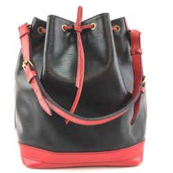 Louis Vuitton Bicolor Noe GM Epi Black Leather