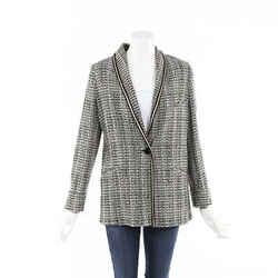 Etro 2019 Tweed Blazer Jacket SZ 44
