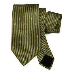 Hermes Silk Necktie Faconnee H Bicolore