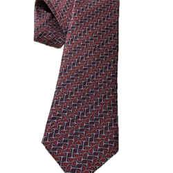 Gucci Men's Red Laquer Horsebit Necktie 408861