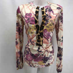 Just Cavalli Tan Printed Tunic 6
