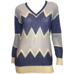 Courreges Paris 1970's Mohair Sweater
