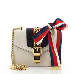 Sylvie Chain Shoulder Bag Leather Mini