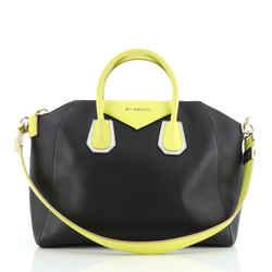 Bicolor Antigona Bag Leather Medium