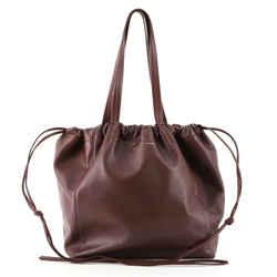 Coulisse Shoulder Bag Leather Small
