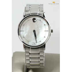 Movado 30mm TC Diamond Mother Of Pearl Dial Ladies Watch 39.3.14.1210