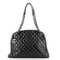 Just Mademoiselle Bag Quilted Aged Calfskin Large