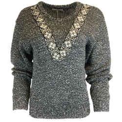 Altuzarra Woven Tweed Knit Sweater