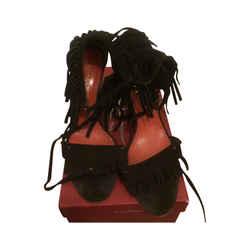Ysl Fringe Sandals