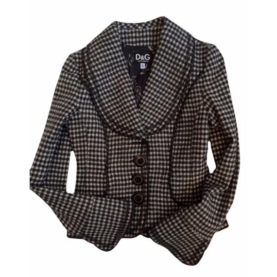 Black & White Checked D&G Blazer