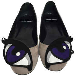 Pierre Hardy Black Oh Roy Ballerina Flats Size: EU 38.5 (Approx. US 8.5) Regular (M, B) Item #: 25102625