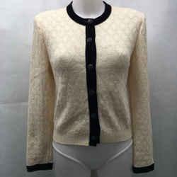 St John Ivory Cardigan Sweater 6