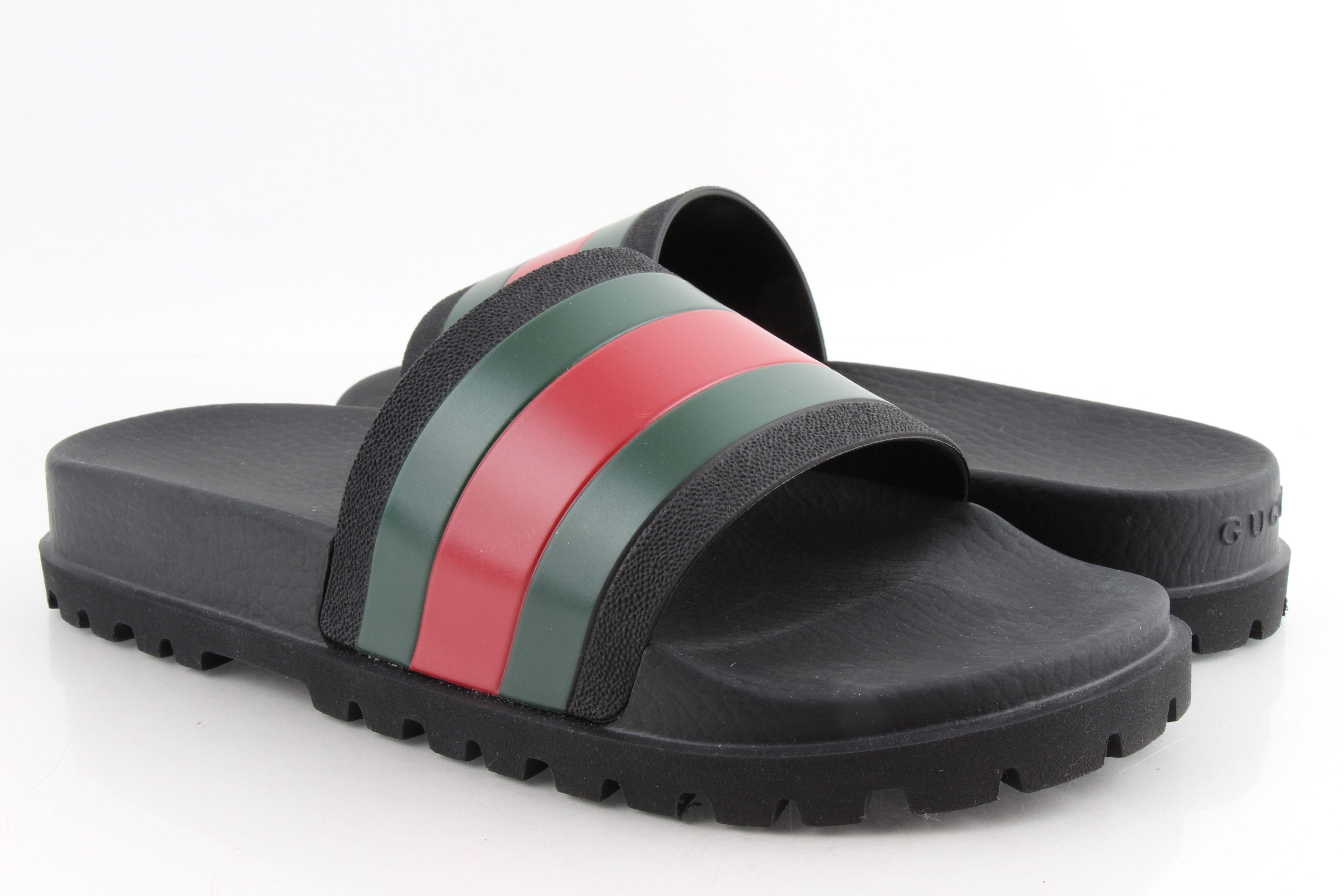 Gucci Pursuit 72 Rubber Slide Sandals