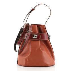 Twist Bucket Bag Epi Leather