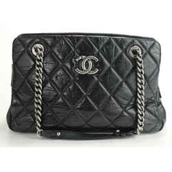 Chanel Timeless Mini Chain Around Shopper - Black