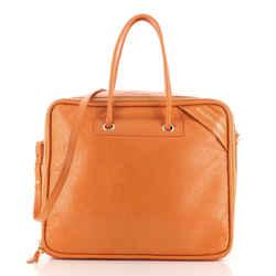 Blanket Square Bag Leather Large
