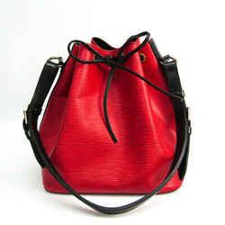 Louis Vuitton Epi Petit Noe M44172 Women's Shoulder Bag Castilian Red,N BF517647