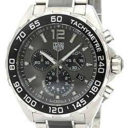 Polished TAG HEUER Formula 1 Chronograph Steel Quartz Watch CAZ1011 BF535340