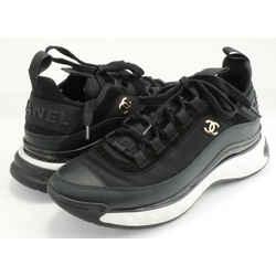 Chanel Velvet Calfskin & Mixed Fibers Sneakers