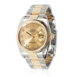 Rolex Datejust 116233 Men's Watch in 18kt Stainless Steel/Yellow Gold