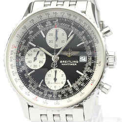 Polished BREITLING Old Navitimer Steel Automatic Mens Watch A13322 BF517895