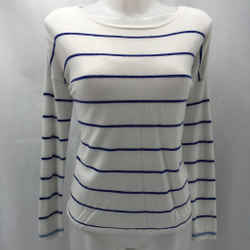 Joie Ivory Stripe Sweater Small